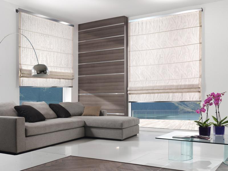Tende da interni roma for Tende pannello moderne